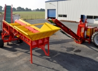 Firewood Sifter/Cleaner with Conveyors